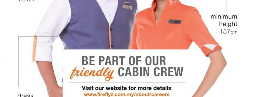 Firefly Cabin Crew Recruitment-Feb2018