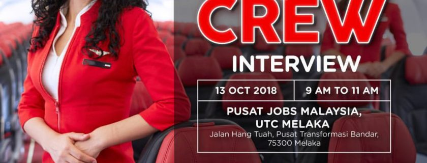 AirAsia Flight Attendant Recruitment – Oct 2018 MKZ