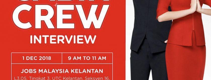 AirAsia Flight Attendant Recruitment – Dec 2018