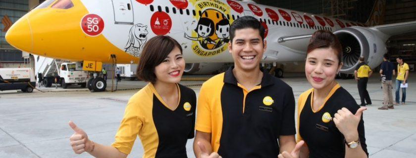 FlyScoot Cabin Crew Recruitment – Jan 2018 (Malaysia)