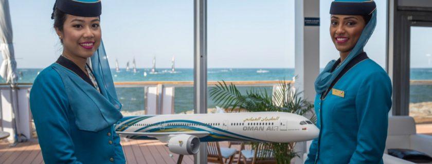 Oman Air Flight Stewardess Recruitment – Apr 2018