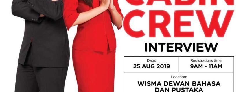 Airasia Flight Attendant Recruitment-Aug 2019 (KUL)